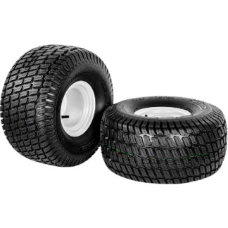 Juego de ruedas de jardin 20 x 10.00-8
